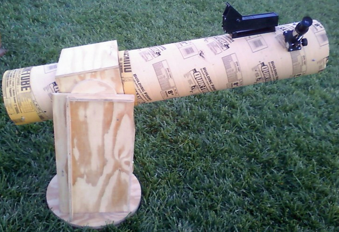 Figure 2 Homemade Dobsonian