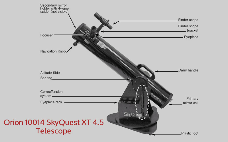 Orion 10014 SkyQuest XT 4.5 Telescope