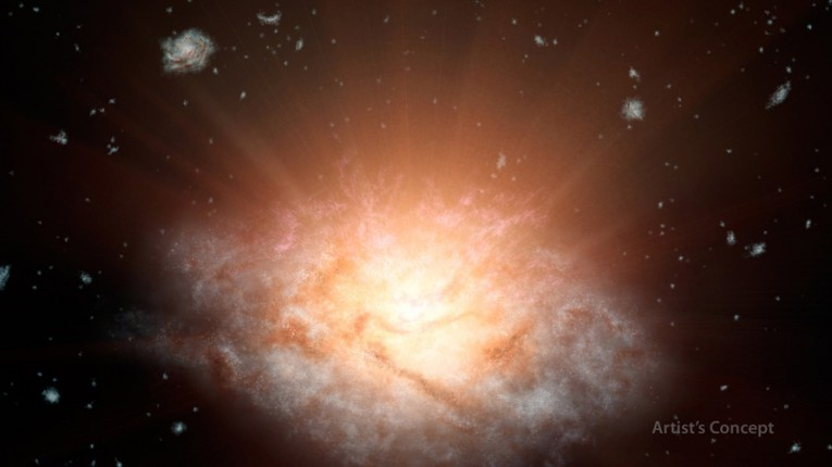 NASA's Wise Spacecraft Discovers The Most Luminous Galaxy