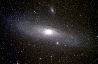 The return of the Andromeda Galaxy
